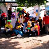 Voluntários levaram alegria e conscientização pelas ruas de Lajeado - Crédito: Lucas Santos