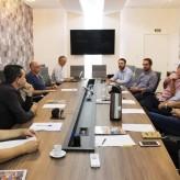 Reunião entre lideranças e secretários municipais ocorreu nesta manhã na Acil - Crédito: Simone Rockenbach