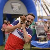Rudinho Bombassaro e o show de cães fez sucesso nos dias 11 e 15 - Crédito: Carioca Fotografia