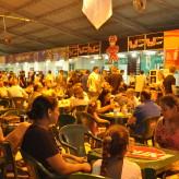 Praça de Alimentação teve oito expositores que serviram grande variedade de alimentos - Crédito: Carioca Fotografia