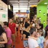 Grande público circulou pelos ambientes do Parque do Imigrante - Crédito: Carioca Fotografia