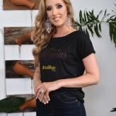 Bruna Giane Soto, 22 anos, de Lajeado, representa o Centro de Beleza Daia Petry, a Florestal Alimentos e Carvalho Fotografia e Vídeo - Crédito: Roberta Colombo