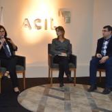 Carolina, Aline e Goulart público interagiu com a palestrante - Crédito fotos Priscila Rodrigues