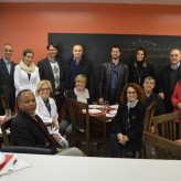 Comitiva da Acil com a coordenadora e equipe do itt Nutrifor - Crédito: Priscila Rodrigues