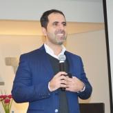 Fábio Souza, CEO & Partner da De Bernt, foi o palestrante de RA na Acil - Crédito: Priscila Rodrigues