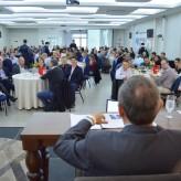 Cerca de 140 lideranças empresarias acompanharam palestra - Crédito: Priscila Rodrigues