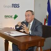 Clovis, presidente da Tramontina, foi o palestrante de RA na Acil - Crédito: Priscila Rodrigues