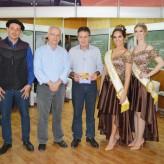 Parceira da Expovale, estande da Fetag e SDR receberam a visita da comitiva - Crédito Priscila Rodrigues