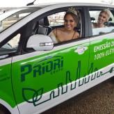 Carro 100% elétrico, inovação da Priori Grupo, estará presente na Expovale - Crédito Priscila Rodrigues