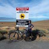 Edith de Mello: aventura de bicicleta pela Patagônia - Crédito: Divulgação