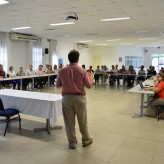 Membros do Grupo Técnico de Alimentos da Acil (GTA) se reúnem mensalmente para trocar experiências e informações - Crédito: Divulgação