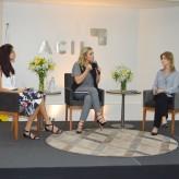 Giselda, Rodaika e Aline interagem com o público - Priscila Rodrigues