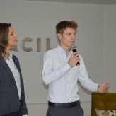 Idalaura Fracaro e Josuel Blau apresentaram o Projeto Util Card - Crédito: Priscila Rodrigues