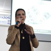 Consultora do Sebrae instigou estudantes a buscarem realização pessoal e profissional - Crédito: Lucas Santos