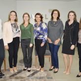 Lideranças femininas prestigiaram a palestra - Crédito: Monica Müller