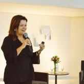 Consultora de famílias empresárias, Magda Ehlers foi palestrante de RA da Acil - Crédito: Lucas Santos