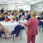 Mais de 100 lideranças empresarias e políticas acompanharam palestra - Priscila Rodrigues
