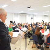 Mais de 100 pessoas participaram da reunião-almoço - Crédito Priscila Rodrigues
