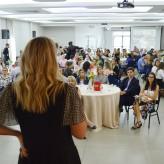 Mais de 120 lideranças empresarias acompanharam palestra - Priscila Rodrigues