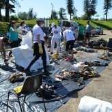 Mais de 600 voluntários participaram da ação em 2015 - Priscila Rodrigues
