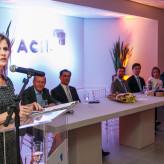 Aline assume como 57ª presidente da Acil - Crédito: Objetivo Fotografia