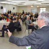 Público ouviu atento as informações sobre logística e concessão de rodovias - Crédito: Priscila Rodrigues