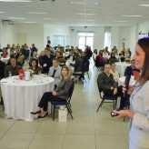 Público ouviu com atenção a trajetória do centro de longevidade e spa - Crédito Priscila Rodrigues