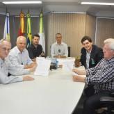 Perius, Scapini, Arenhart, Silva, Caumo e Pretto parceria reconhecida - Crédito: Luiz Roberto Júnior