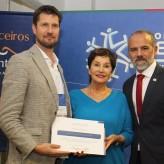 Presidente da Acil recebeu homenagem da presidente da PV RS - Divulgação