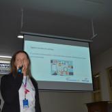 Consultora do Senac orientou estudantes na elaboração de currículos e entrevistas de emprego - Crédito: Lucas Santos
