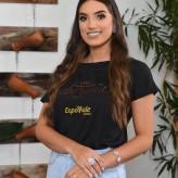 Vitória Karolina Moccelin Bettio, 20 anos, de Lajeado, representa a Loja Donna e a Enfasis – Clínica Integrada - Crédito: Roberta Colombo