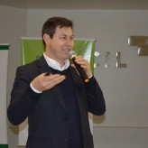 Vicentin é coordenador de projetos da Facisc e o Empreender em Santa Catarina - Priscila Rodrigues