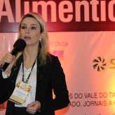 Bruna Bresolin Roldan abordou a qualificação das ervateiras - Crédito: Clarissa Jaeger