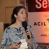 Daiana de Souza, da Unisinos, explicou sobre rotulagem de alimentos - Crédito: Clarissa Jaeger