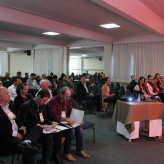 Coordenador da Jornada, Gilberto Soares também abriu a apresentação dos expositores da rodada de negócios - Crédito: Simone Rockenbach