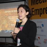 Internacionalização do setor foi o tema abordado por Marina Finestrali - Crédito: Simone Rockenbach