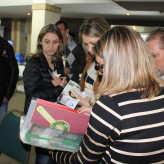 Participantes aproveitaram evento para contatos, troca de informações e negócios - Crédito: Simone Rockenbach