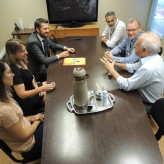 Reunião alinhou parceria e confirmou ações para a feira - Crédito: Clarissa Jaeger