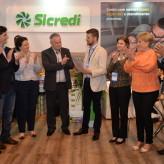 Autoridades e patrocinadores comemoram patrocínio para a Expovale 2020 - Crédito: Roberta Colombo