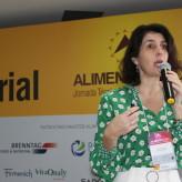 Serviços e tecnologias do Tecnovates foram apresentados pela diretora do parque tecnológico, Simone Stülp - Crédito: Simone Rockenbach